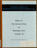 Report of the Advisory Group on Bankruptcy Laws PDF