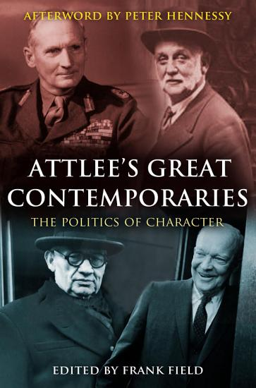 Attlee s Great Contemporaries PDF