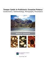 Temper Sands in Prehistoric Oceanian Pottery