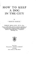 How to Keep a Dog in the City PDF