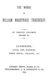 The Works of William Makepeace Thackeray ...