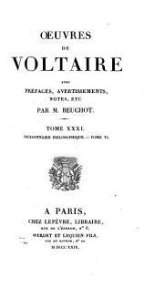 Oeuvres de Voltaire: Volume31