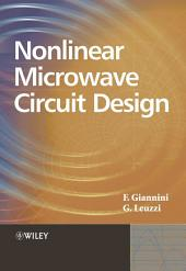 Non-linear Microwave Circuit Design