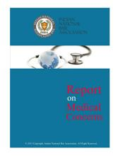 Report on Legal Medical Issues India: Health Laws India