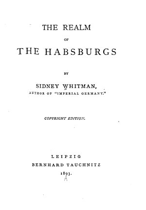 The Realm of the Habsburgs