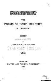 The Poems of Lord Herbert of Cherbury