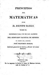Principios de matemáticas: Volumen 2