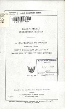 Pacific Region Interdependencies PDF