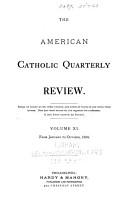 The American Catholic Quarterly Review     PDF