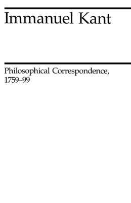 Philosophical Correspondence, 1759-1799