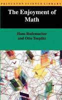 The Enjoyment of Math PDF