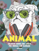 Mandala Coloring Books for Adults for Pencils and Markers - Animal