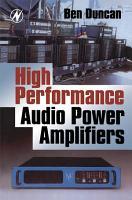 High Performance Audio Power Amplifiers PDF