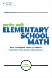 Master Math: Elementary School Math
