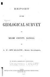 Report of the Geological Survey of Miami County, Kansas