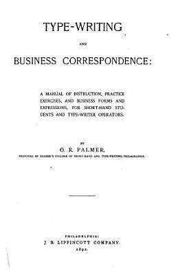Type writing and Business Correspondence PDF