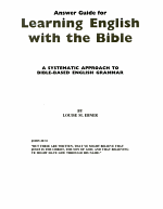 Learning English With the Bible