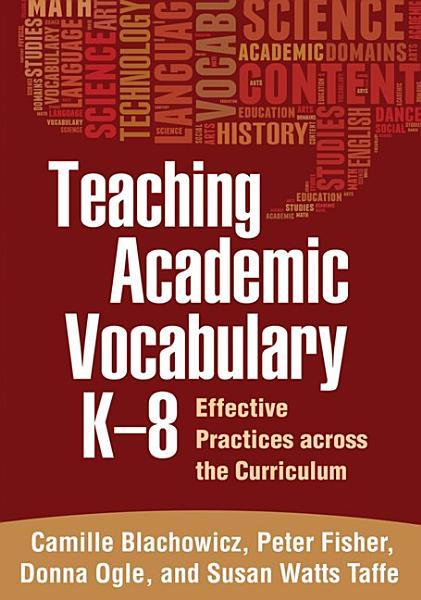 Teaching Academic Vocabulary K-8