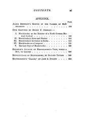 Life of Felix Mendelssohn Bartholdy