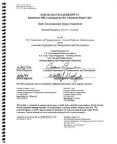 North-South Expressway, Interstate 220, Louisiana to the Arkansas State Line: Environmental Impact Statement