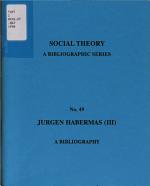 Jurgen Habermas (III)