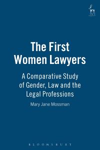 The First Women Lawyers Book