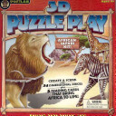 3-D Puzzle Play African Animals