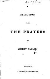 A Selection from the Prayers of Jeremy Taylor