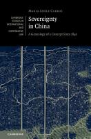 Sovereignty in China PDF