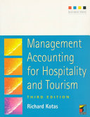 Management Accounting for Hospitality and Tourism PDF