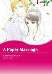 A Paper Marriage: Harlequin Comics