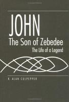 John  the Son of Zebedee PDF