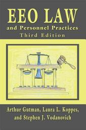 EEO Law and Personnel Practices, Third Edition: Edition 3