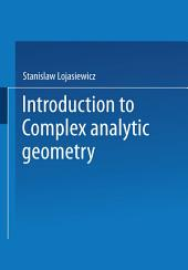 Introduction to Complex Analytic Geometry