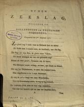 Op den zeeslag, tusschen de Hollandsche en Engelsche esquaders, voorgevallen den 5den Augustus 1781