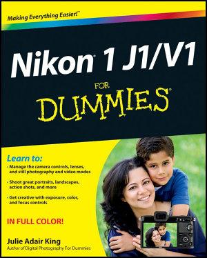 Nikon 1 J1 V1 For Dummies PDF