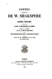 Contes dramatiques de W. Shakespere: ou, Légendes populaires