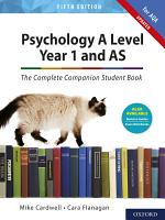 Psychology A Level Year 1 and AS  The Complete Companion Student Book for AQA PDF