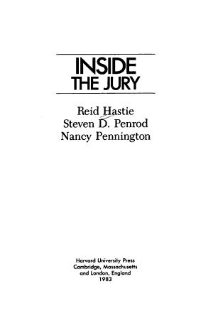 Inside the Jury PDF