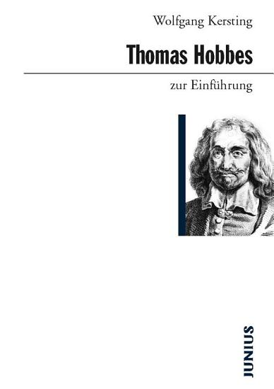 Thomas Hobbes zur Einf  hrung PDF
