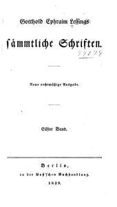 Gotthold Ephraim Lessings sämmtliche schriften: Band 11