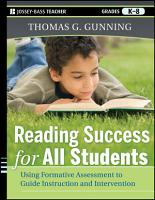 Reading Success for All Students PDF
