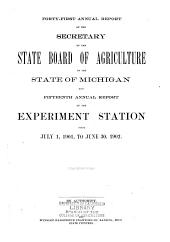 Annual Report of the Agricultural Experiment Station, Michigan State University: Volume 15