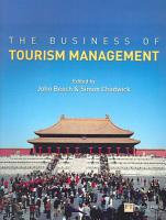 The Business of Tourism Management PDF