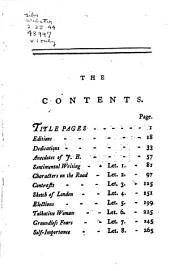 John Buncle, Junior, Gentleman: Volume 1