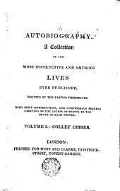 An Apology for the Life of Colley Cibber: Comedian