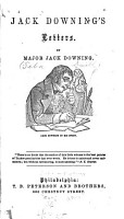Jack Downing s Letters PDF