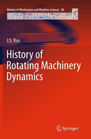 History of Rotating Machinery Dynamics PDF