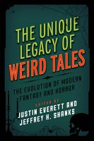 The Unique Legacy of Weird Tales PDF