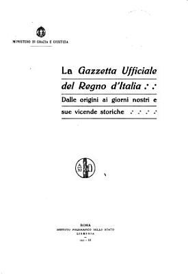 La Gazzetta ufficiale del regno d Italia PDF
